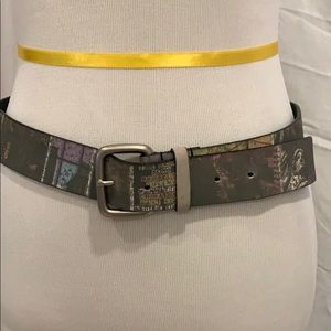 Accessories - NYC themed women's leather belt